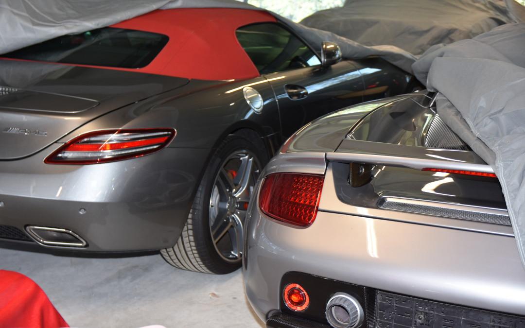 Betreutes Parken für Supersportwagen